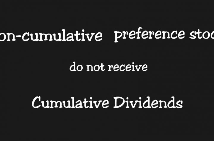 Meaning of NonCumulative Preference Shares with Key Explanations