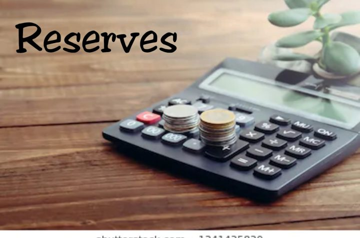 Meaning of Reserves (accounting) and key Explanations
