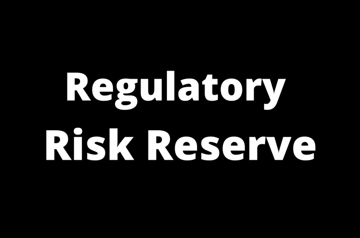 Regulatory Risk Reserves Meaning and Key Explanation