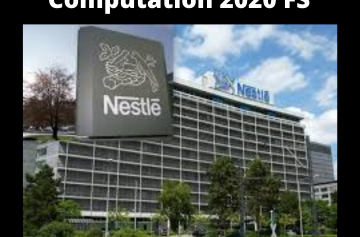 Nestle PLC Working Capital Calculation for 2020 Financial Statements