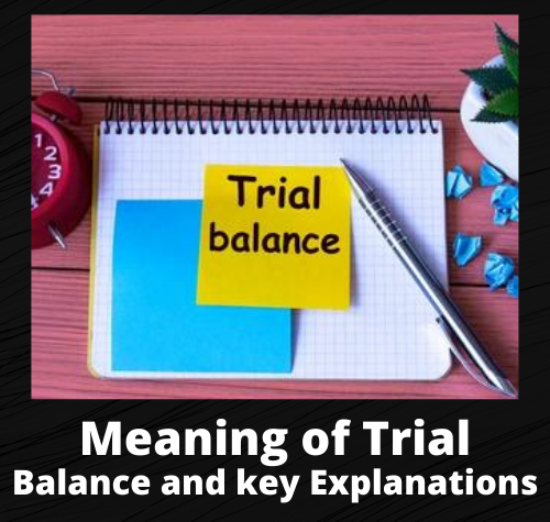 Meaning of Trial Balance and key Explanations